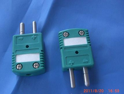 K Type Standard Thermocouple Connector (Green)|Thermocouple,Pt100