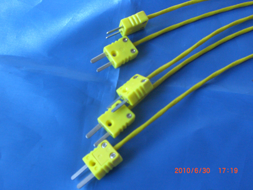 K Type Thermocouple Connector (Yellow)|Thermocouple,Pt100 Thermal